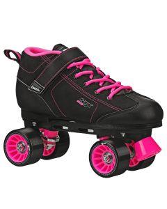 GTX 500 Adult Black and Pink Rink Skates