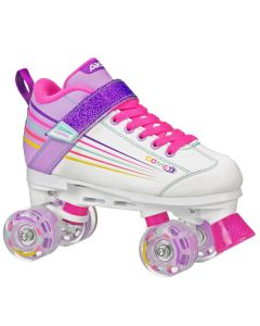 Comet 500 Girls Lighted Wheels Rink Skates 2017