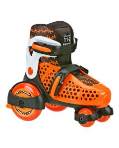 Tri-Roll Youth Rental Size Adjustable Rink Skates