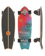 """Slide Street Surf SkateBoard Sunset Beach 32"""""""