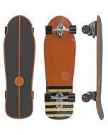"""Slide Street Surf SkateBoard White Sox 33"""""""