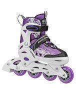 Stryde Girl's Inline Skates - Adjustable Sizes (11-1) or (2-5)